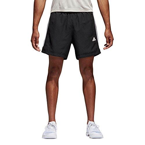 adidas Herren Shorts Sport Essentials 3-Streifen Chelsea, schwarz/weiß, XL, S88113
