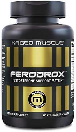 Kaged Muscle Ferodrox Ultra Premium Testosterone Booster with LJ100 Tongkat Ali KSM 66 Ashwagandha product image