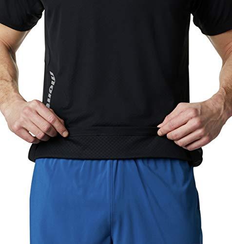 Columbia Men's Titan Ultra Ii Running Short Sleeve Shirt, Black, XX-Large