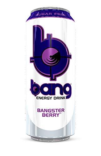 Bang (VPX) Energy RTD x 12, Bangster Berry, 500ml