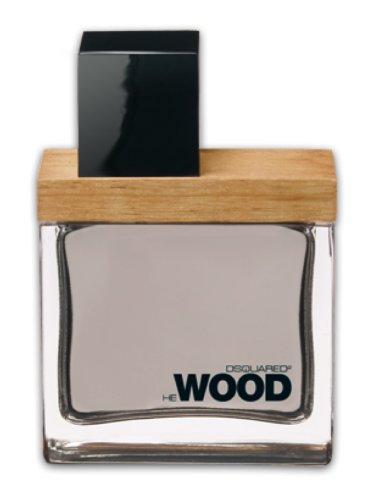 Dsquared He Wood homme/man, Eau de Toilette Vaporisateur, 1er Pack (1 x 30 ml)