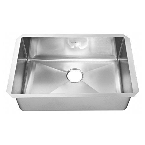 American Standard 18sb Pekoe Single Bowl Stainless Steel Undermount Kitchen Sink