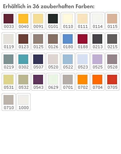 Formesse Spannbettlaken Bella Sephina, Größe 140x200-160x220, Farbe 0704 mango Orange