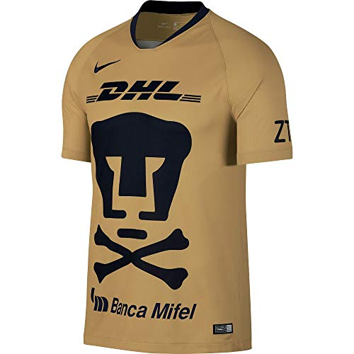 Nike Pumas UNAM 2018-2019 Day of The Dead Home Soccer Jersey (Small)