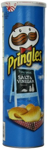 Pringles Salt and Vinegar Super Stack, 5.96 Ounce (Pack of 14) by Pringles