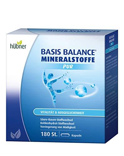 hübner - Basis Balance Mineralstoffe Pur - Kapseln - 180 Stück -