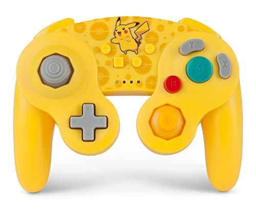 PowerA Pokémon Manette sans fil de Nintendo Switch - Style GameCube: Pikachu