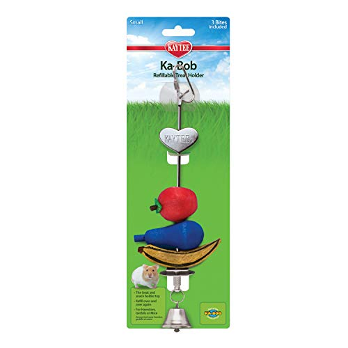 Kaytee Small Animal Ka-Bob Chew Dispenser Toy, Small