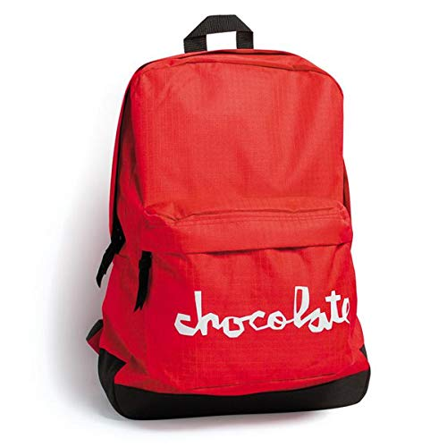 Chocolate Chocolate Chocolate Company Chunk Back Pack, rosso, Pz