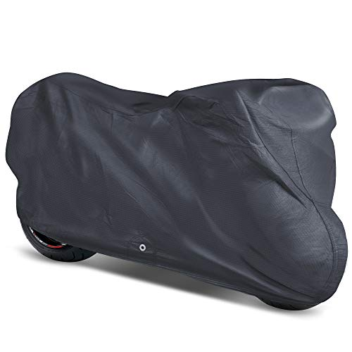 OxGord Signature Motorcycle Cover - Water Resistant 5 Layers - Ready-Fit/Semi Custom - Fits up to 111 Inches