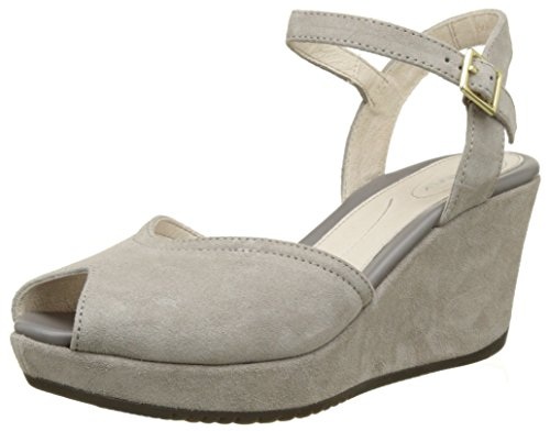 Stonefly Marlene II 1, Sandales Bout Ouvert Femme, Gris (Taupe 423), 41 EU