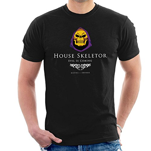 House Skeletor Evil is Coming He Man Masters of The Universe Men's T-Shirt