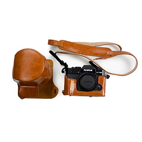 Kinokoo - Estuche de piel sintética para cámaras Fujifilm X-T30 Fujifilm X-T20, Fujifilm X-T10 y...