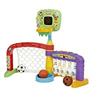Little Tikes Little Tikes 3-in-1 Sports Zone for Children - Basketball, Soccer & Bowling - Hours of ...