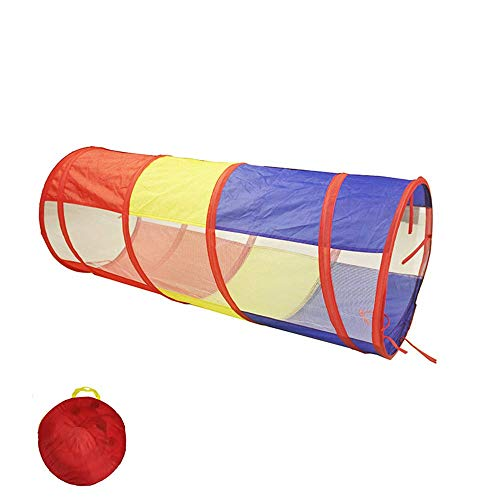 WY-YAN Children Play Tent Children's Tent Tunnel Folding Portable Magic Baby Toy Room Drill Hole Tube Climbing Tube Sunlight Crawling Tunnel Toys for Girls/Boys Kids (Color : A) (Color : B)