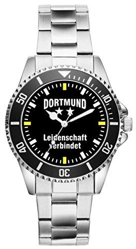 KIESENBERG - Dortmund Geschenk Artikel Idee Fan Uhr 2274