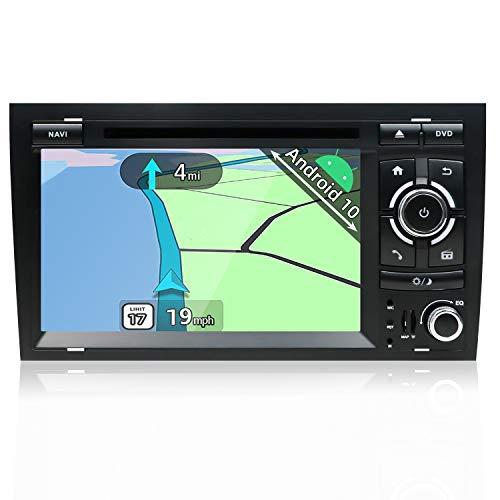 YUNTX Autoradio compatible avec radio Audi A4 (2003-2011) Navigation Caméra arrière et Canbus GRATUITES | 7 Zoll | 2GB/32GB | DAB+ Unterstützung | DVD | USB | WLAN | Bluetooth | MirrorLink | RDS