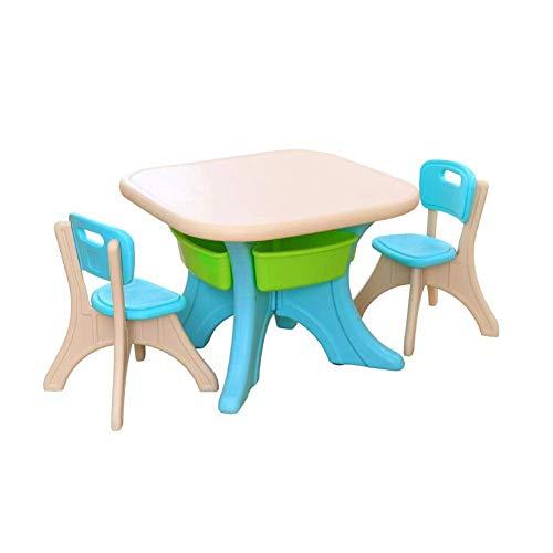 N/Z Tägliche Ausrüstung Tische Stuhl Niedliche Möbel Set Schreibtisch Kindergarten Indoor Outdoor Spiel Handwerk Aktivitäten Picknick T5