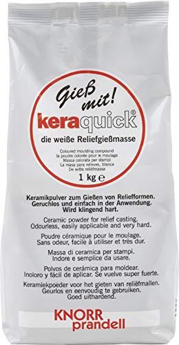 KnorrPrandell keraquick, Pasta da irrigazione di Colore Bianco, 1000 g