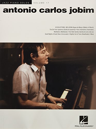 Antonio Carlos Jobim: Jazz Piano Solos Series Volume 17