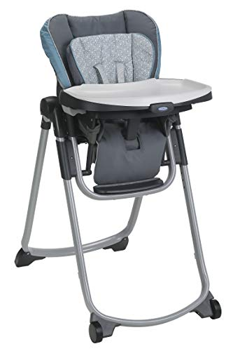 Graco Slim Spaces High Chair | Compact High Chair, Alden