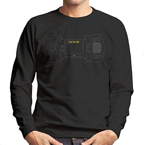 Atari Lynx Handheld Gaming Console Men's Sweatshirt