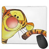 ティガー4 マウスパッド おしゃれ 高級感 ゲーミング オフィス最適 滑り止めゴム底 付着力が強い 耐久性が良 22x18x0.3cm