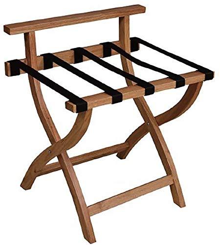 Save %41 Now! HOMRanger Room Luggage Holder, Hotel Solid Wood Folding Luggage Rack, Travel Break Fol...
