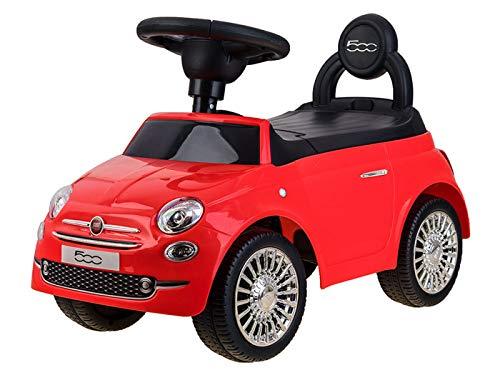 FIAT 500 Véhicule pour enfant Rouge/bleu