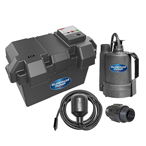Superior Pump-Battery Backup Sump Pump
