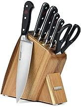 Wusthof Classic 7-piece Slim Knife Block Set (Acacia)