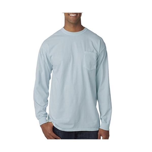Comfort Colors Chouinard 4410 Long Sleeve Heavyweight Cotton Pocket Tee