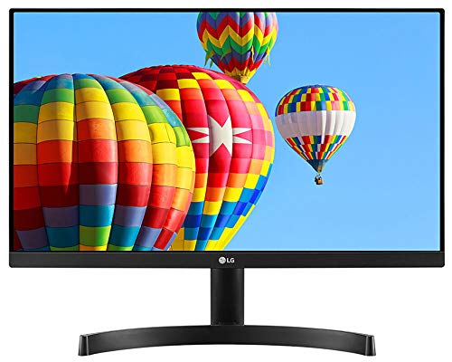 "LG 21.5"" Full HD (1920 x 1080) Slim IPS Panel Monitor, HDMI x 2 & VGA Port, 56-75 Hz Refresh Rate & AMD Freesync - 22MK600M (Black)"
