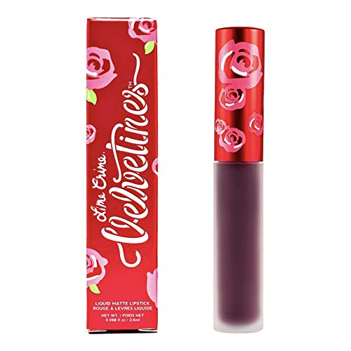 LIME CRIME VELVETINES - LIQUID TO MATTE LIPSTICK - JINX- PURPLE BERRY NEW SHADE by Lime Crime