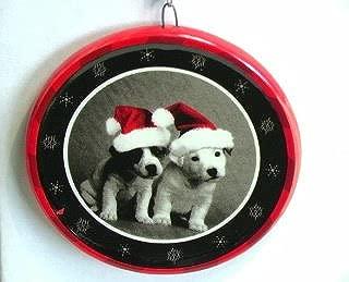 Keith Kimberlin Two Jack Russells Christmas Ornament
