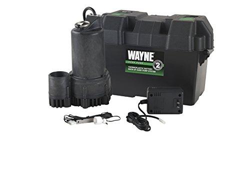 WAYNE ESP25 12 Volt Battery Back-Up Sump Pump System