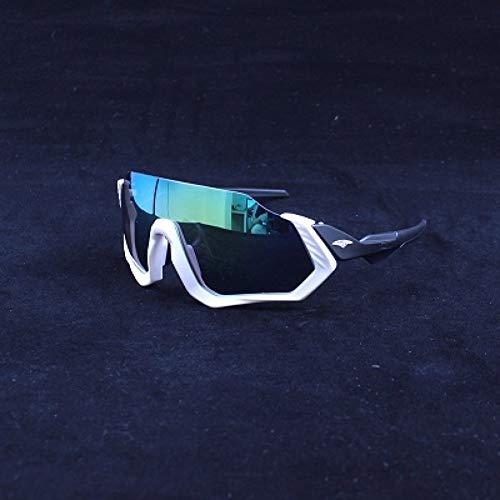 YIERJIU Gafas de Ciclismo Gafas de Sol de Ciclismo Deportivo uv400 Hombres Mujeres Gafas de Bicicleta de Carretera de montaña al Aire Libre Correr Gafas de Pesca MTB Gafas de Bicicleta,Color 14