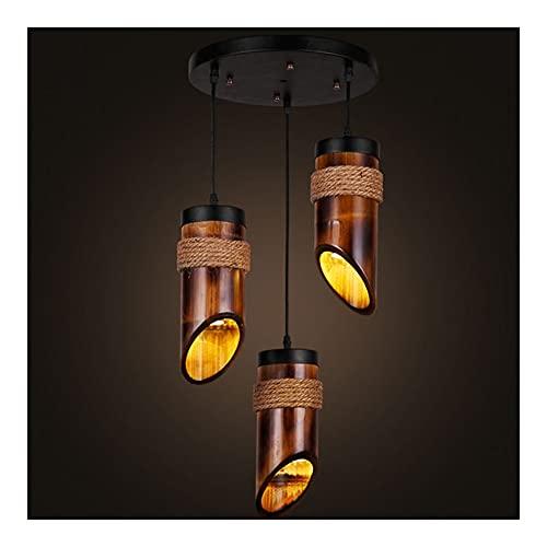 WCN Lamparas de Techo Colgando Colgando De La Lámpara 3 Luces Luz Pendiente Industrial Light para Comedor Dormitorio Pasillo Isla De Cocina
