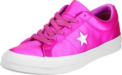 Converse Unisex Chuck Taylor All Star Sneaker Mens 4/Womens 6 Neon Pink 9561