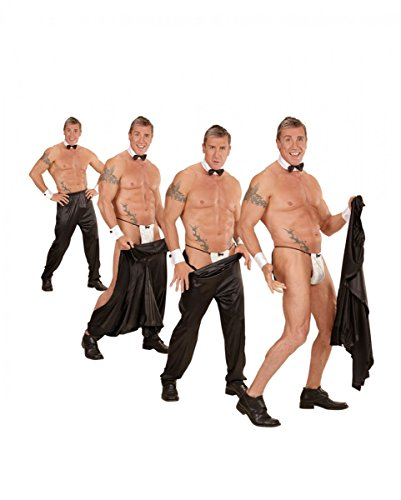 Horror-Shop Sexy Stripper-Hose mit Klettverschluß für Chippendales Showeinlagen XL