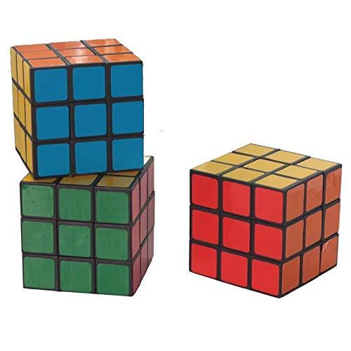 JIAMIN Cubo mágico profesional de Rubik Cubo mágico de rotación de velocidad...