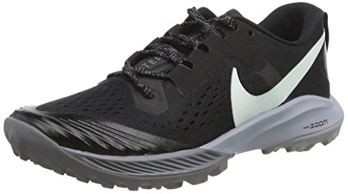 Nike Air Zoom Terra Kiger 5 Women's Running Shoe Black/Barely Grey-Gunsmoke-Wolf Grey 8.5