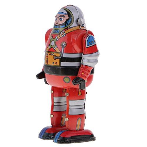 Colcolo Mecánico Retro Robot Robot Astronauta Modelo de Juguete de Juguete