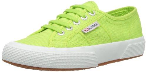Superga Unisex-Erwachsene Classic Sneaker Low-Top 2750 Cotu Classic, Grün (Acid Green), 41 (Herstellergröße: 7)