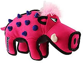 Gigwi Duraspikes Durable Wild Boar Toy for Dog, Pink