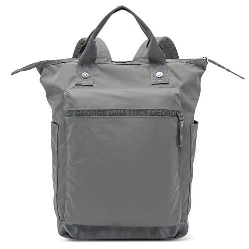 George Gina & Lucy Handtasche Wickeltasche Baby Bag Minor Modernist grey