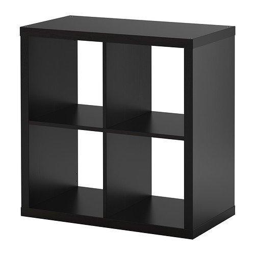 Ikea Estantería Kallax el nuevo Expedit. 4–Compartimento schwarzbraun 77x 77x 39cm)