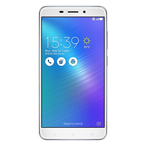 Asus ZenFone 3 Laser (ZC551KL) Dual-SIM Smartphone (5,5 Zoll (14 cm) Full-HD Touch-Display, 32GB Speicher, Android 6.0) silber