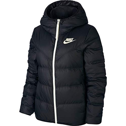 Nike Damen Jacken NSW Wr Dwn Fill Rev, Black/Sail, XS, 939438