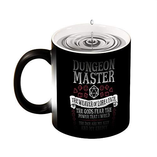 Magic mok warmte gevoelige Dungeon Master, de Weaver van Lore & lot grappige kleur veranderen koffie mok Cup 11 OZ
